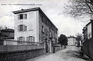 La Poste à Charbonnières