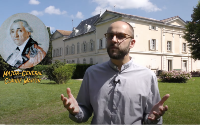 Journal de l'histoire: la maison du major général Claude Martin à Charbonnières